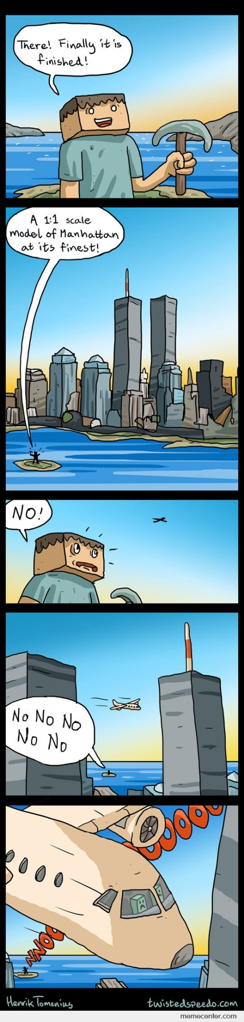 Manhattan Minecraft