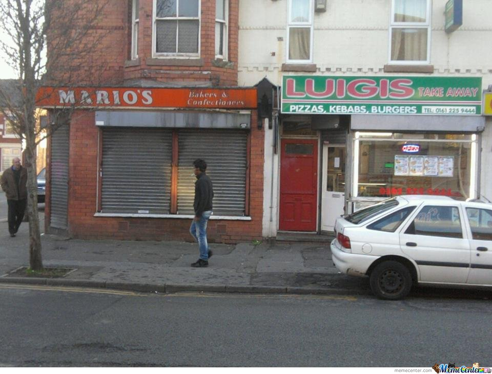 Mario's Bakers & Confectioners and his rival