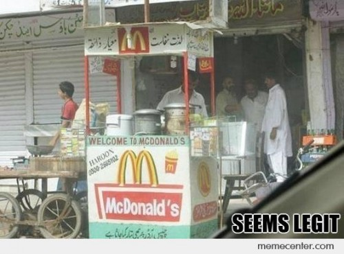 McDonals in Pakistan