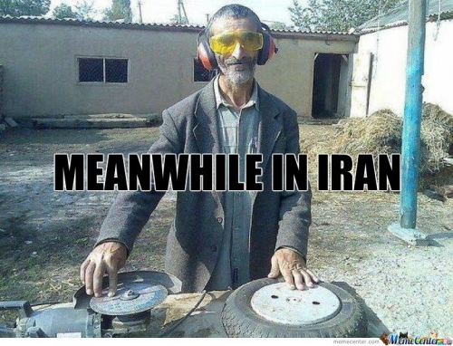 Meanwhile In Iran