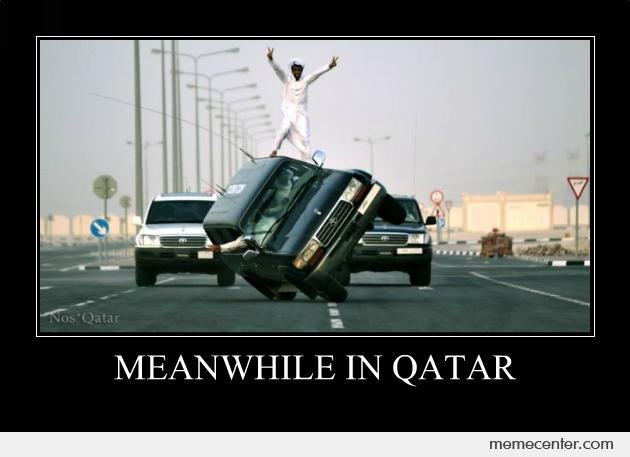 Meanwhile in Qatar
