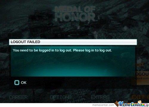 Medal of honor FAIL