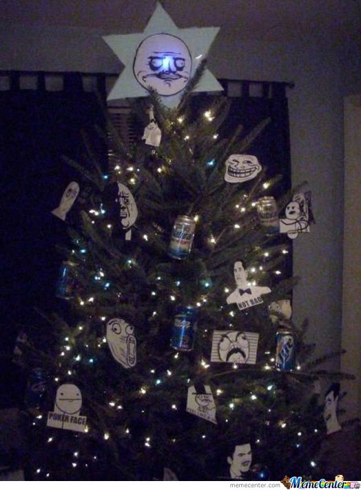 Meme's christmas tree