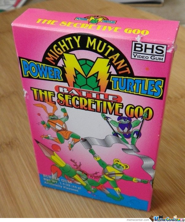 Mighty mutant power turtles - Seems Legit
