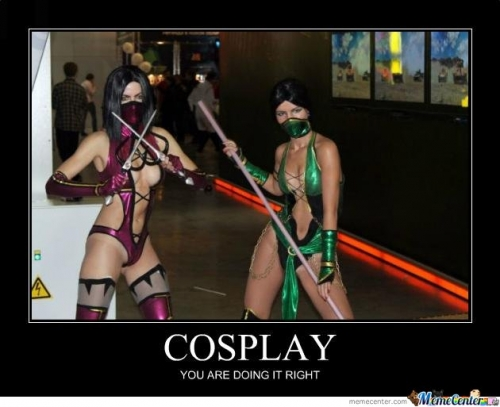 Mileena And Jade Cosplay