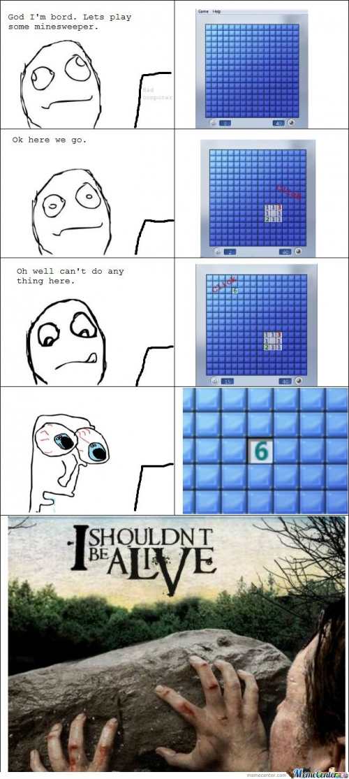 Minesweeper: I Shouldn't Be Alive