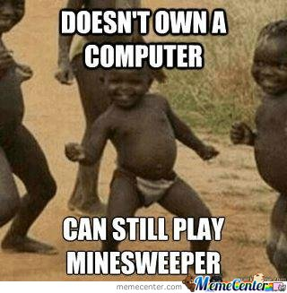 Minesweeper, no PC needed