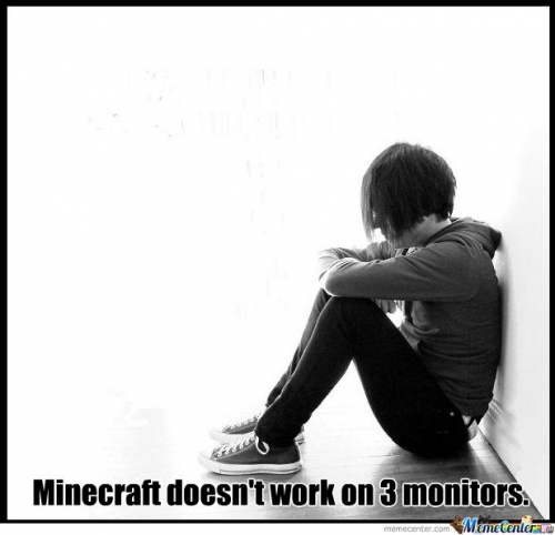 Monitors and Minecraft