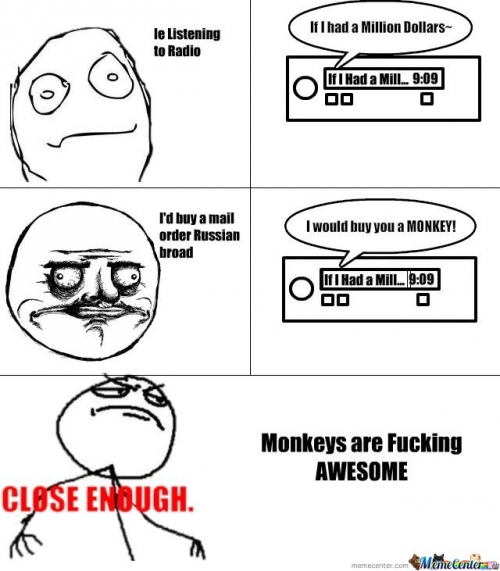 Monkeys are Fucking Awesome