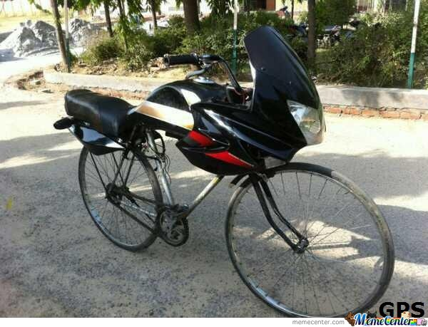 Motorbike. Seems Legit.