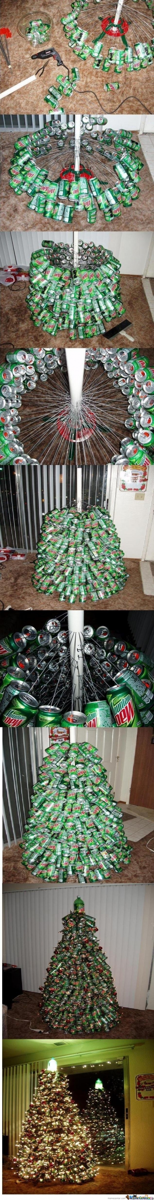 Mountain Dew Christmas Tree