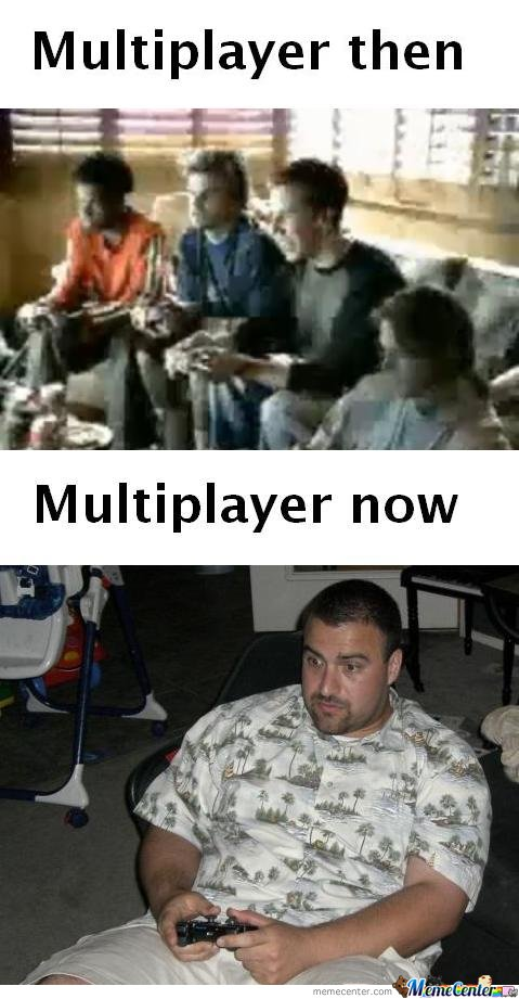 Multiplayer Then & Now