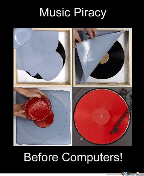 Music Piracy Before Computers