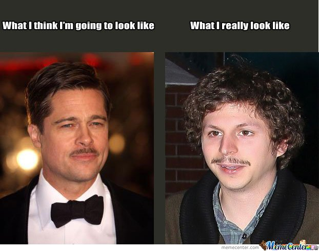 Mustache - Expectations vs Reality