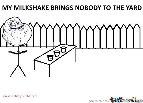My Milkshake Brings Nobody To The Yard