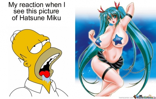 My reaction to Hatsune Miku