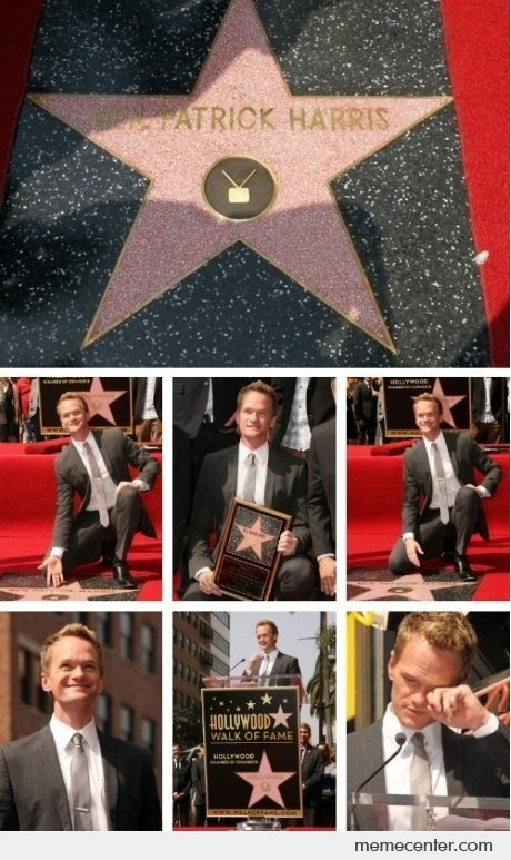 Neil Patrick Harris On Walk of Fame