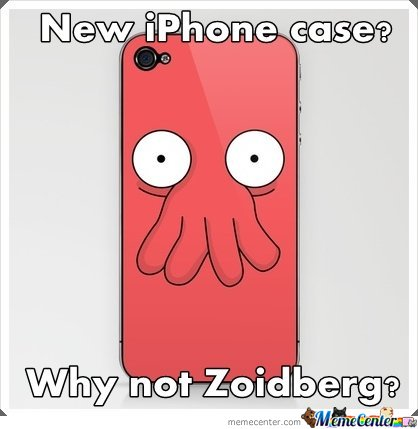 New Iphone Case? Why Not Zoidberg?