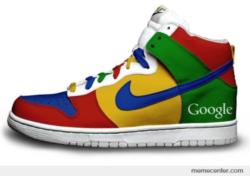 Nike Google Snickers