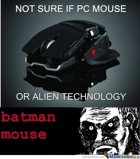 Not Sure If Pc Mouse Or Alien Technology