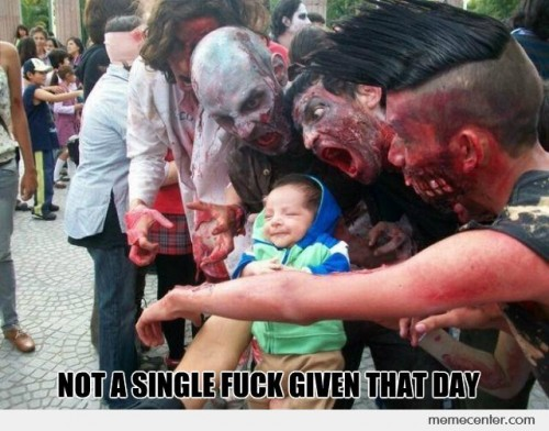 Not a Single Fuck Given by a Baby