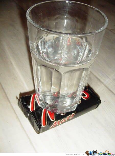 Now there is water on mars