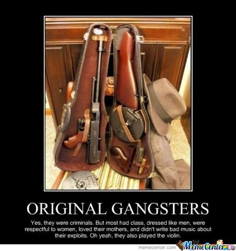 OLD GANGSTERS.. THE ORIGINAL ONES.
