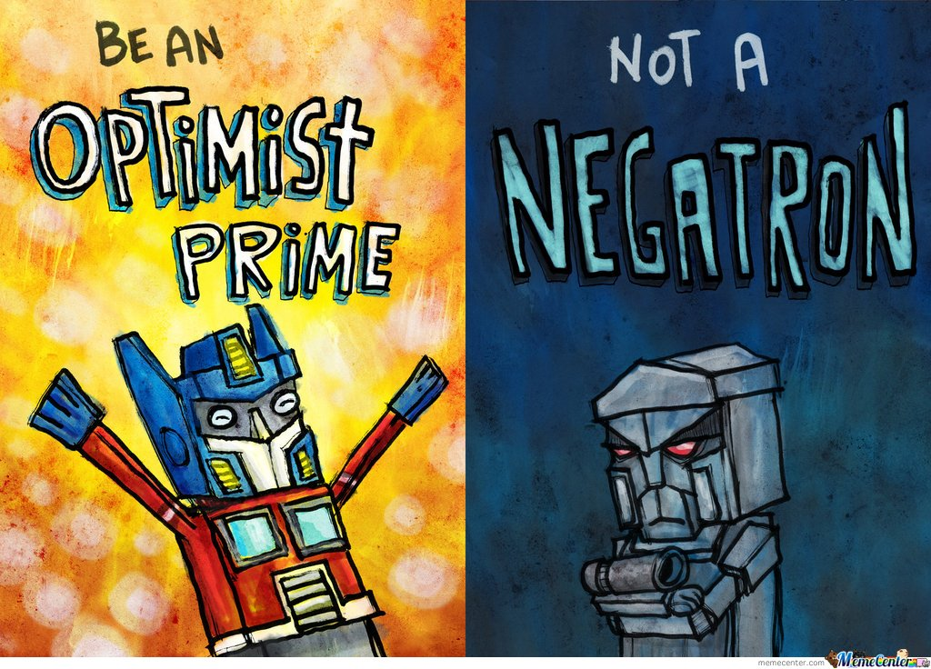 Optimist Prime & Negatron