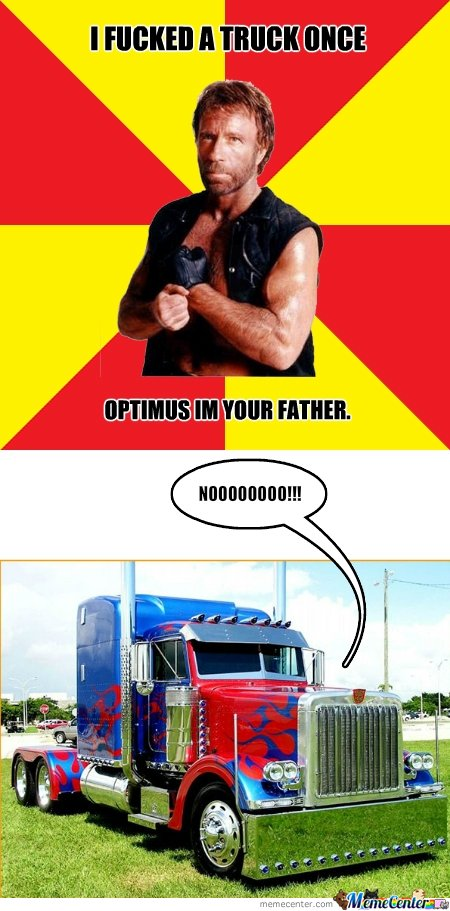 Optimus prime and chuck norris