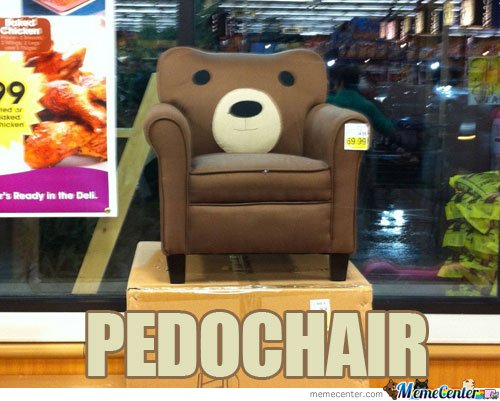 PEDO CHAIR