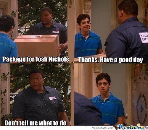 Package for Josh Nichols . Thanks, Have a good day