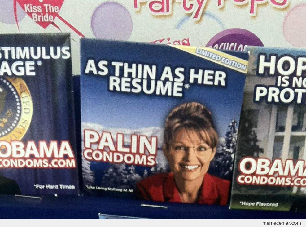 Palin Condoms