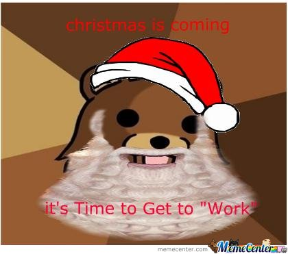 Pedobear Favorite Holiday