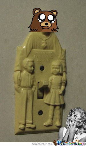 Pedobear Light Switch