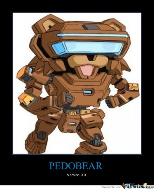 Pedobear version 9.0