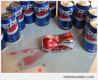 Pepsis killed Coca Cola