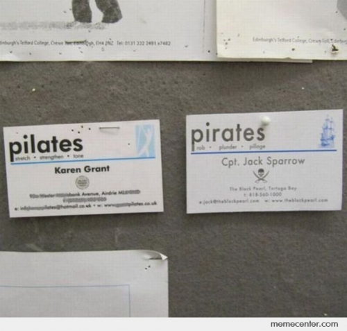 Pilates Pirates
