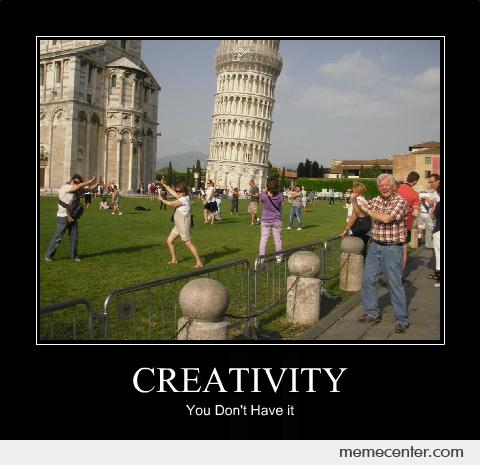 Pisa Tower Creativity