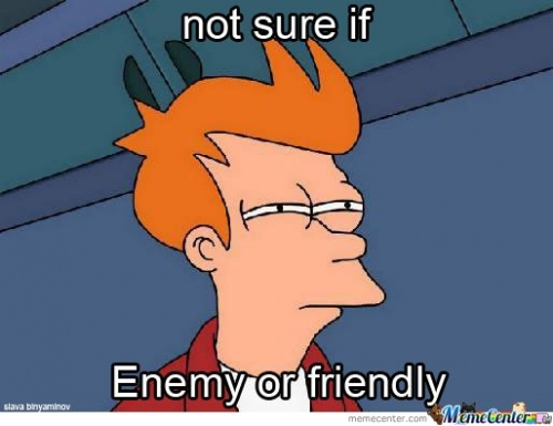 Playing Battlefield 3 - When Seeing A Distant Figure