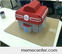 Pokemon Center Model