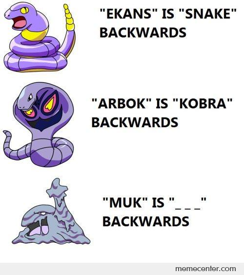 Pokemon Names