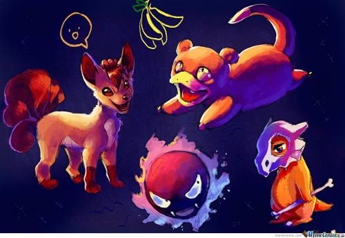 Pokemon Scribbles