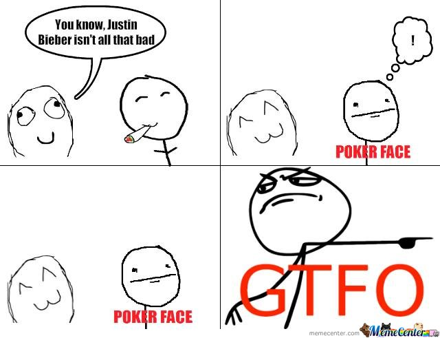 what is poker face about