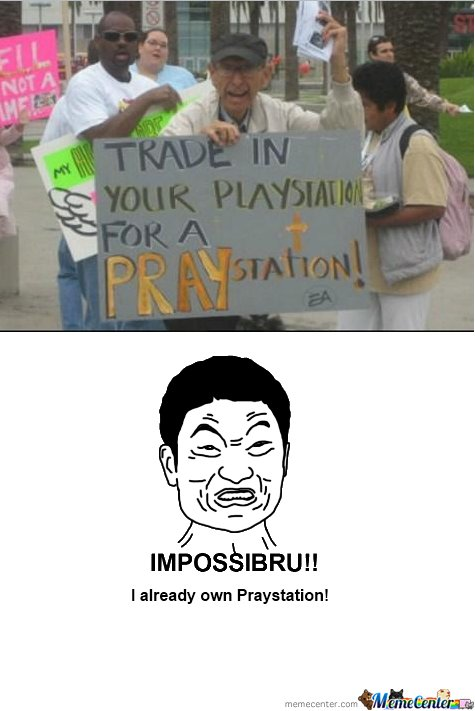 Praystation Remixed (engrish-impossibru)