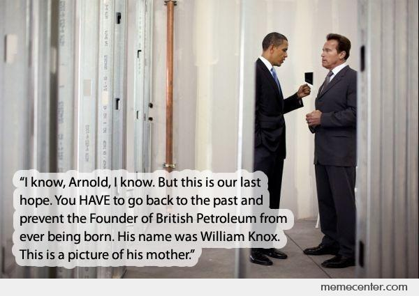 Arnold (MO) United States  City pictures : President Obama talking to Arnold by ben Meme Center