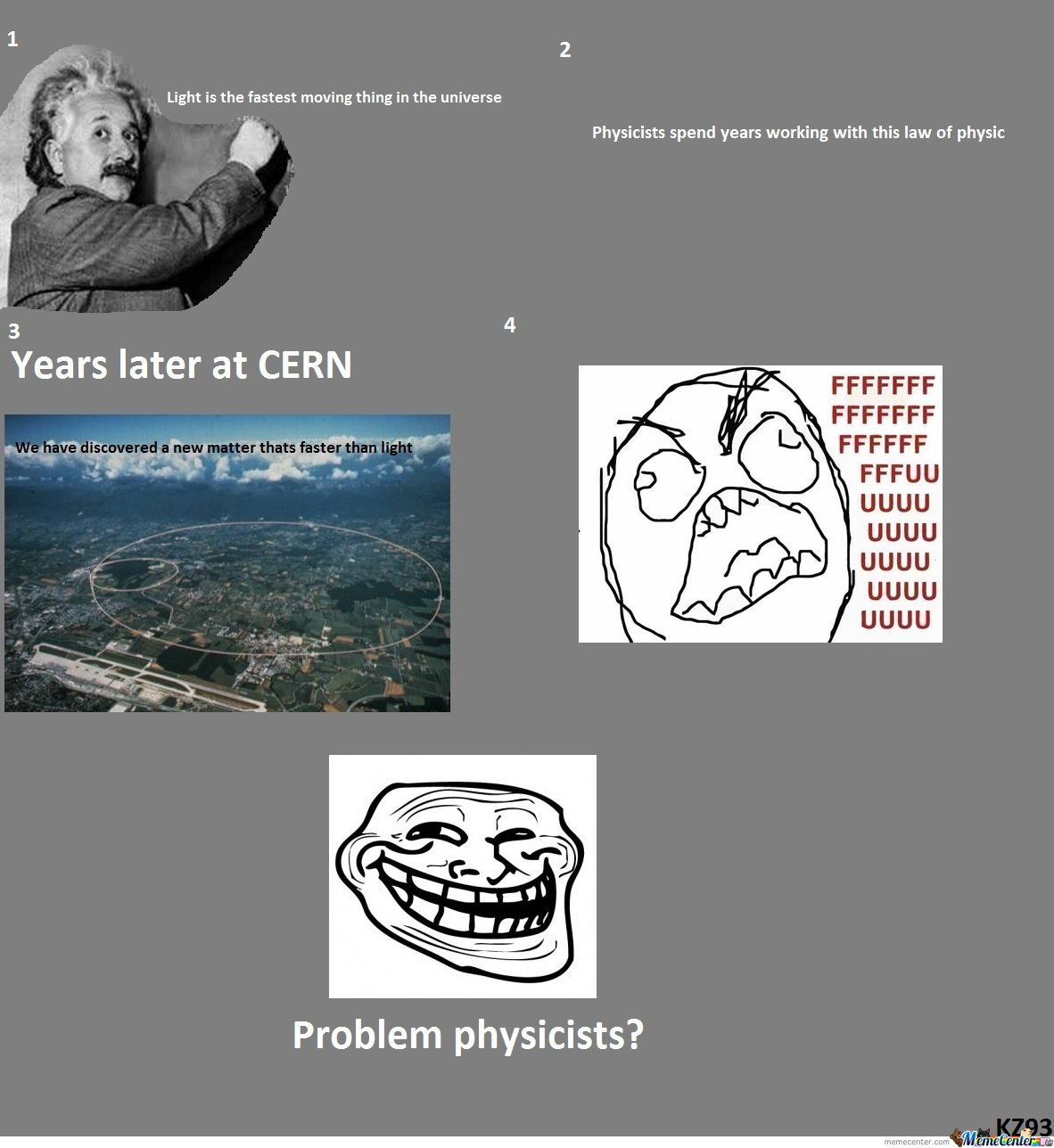 Problem? Physicist