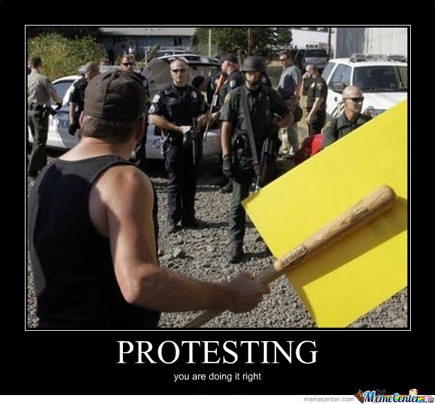 Protesting