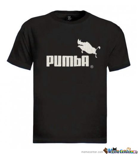 Pumba. Do Want