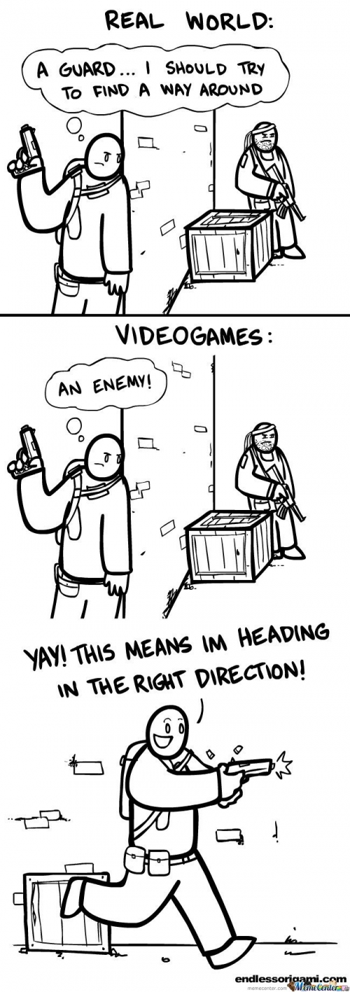 Real World Vs Video Games