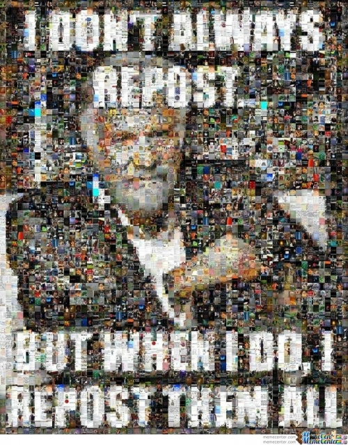 Repost all the memes
